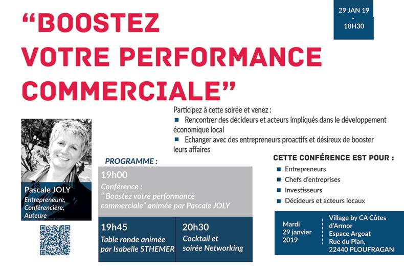 Conférence Pascale Joly : donner un coup de boost à votre développement commercial